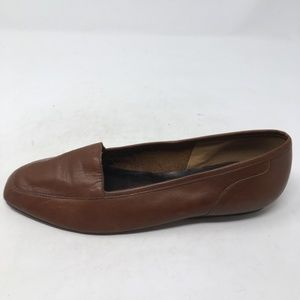 ENZO ANGIOLINI BROWN LOAFERS 7.5M